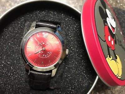 New in Box Man's Disney Red Face with Stars
