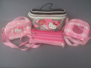 Hello Kitty carry bag, shoulder purses and Smiggles pencil case. Old Reynella Morphett Vale Area Preview