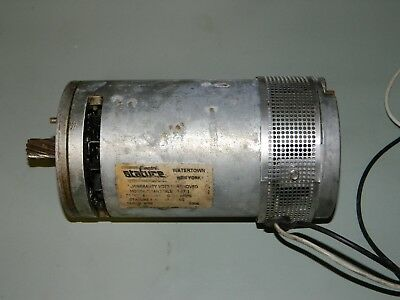 STATURE ELECTRIC MOTOR 36V DC - 30.87:1 RATIO - WORKS - Heavy 18-1/2 pounds