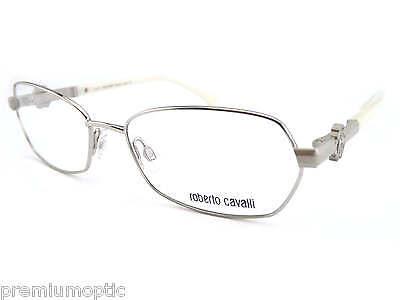 Roberto Cavalli Brillengestelle (Roberto Cavalli Damen Designer Brillengestell RC0629 016 Silber Perle)