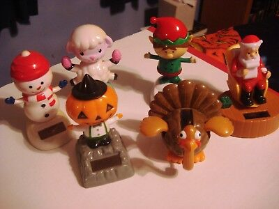 Solar Powered Bobbles Dancing Animated Holiday Themed Halloween Christmas & - Halloween Themed Dance