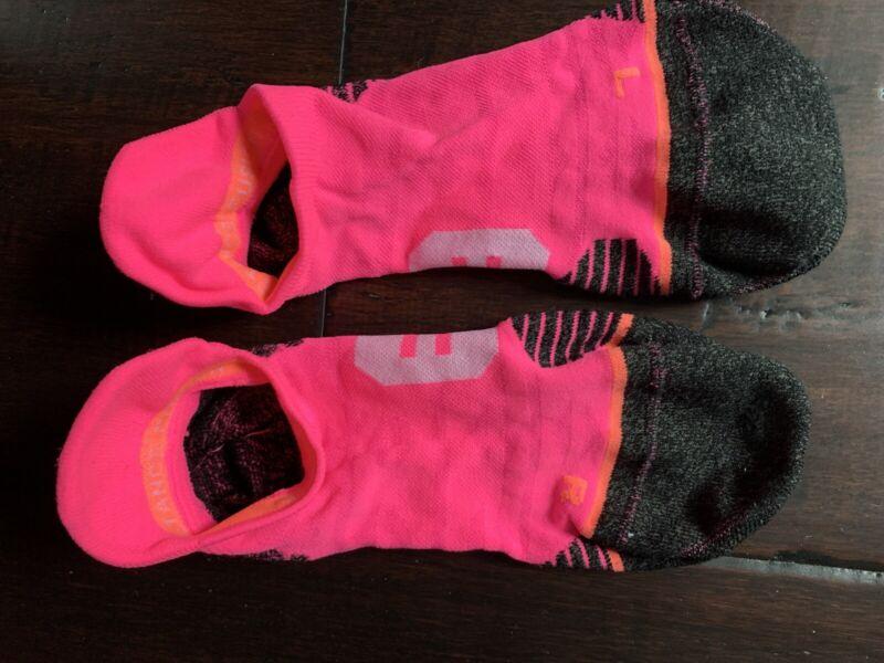Stance Run Tab Socks Medium Pink