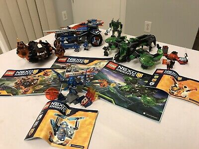 Lego Nexo Knights Lot Berserker Bomber 72003 70330 70313 Rumble 70315 70339