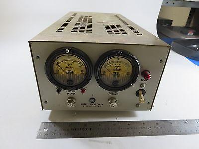 Trygon Electronics Hr30-8b0v Analog Dc Power Supply Output 0-30 Vdc 0-8a