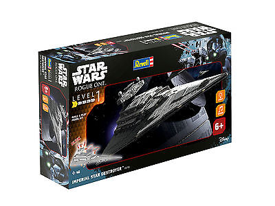 Revell Modellbausatz Star Wars Imperial Star Destroyer Maßstab 1:4000