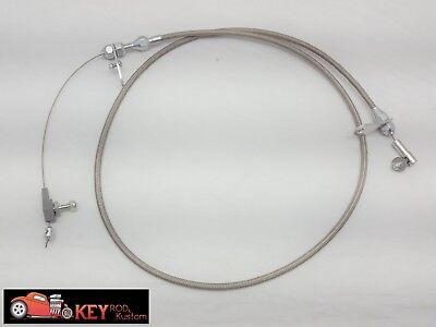 904 Chrysler transmission detent kick down cable braided stainless steel Dodge
