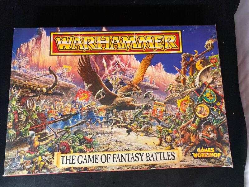 WARHAMMER Game of Fantasy Battles 1992 Edition Figures Set 0120     1734