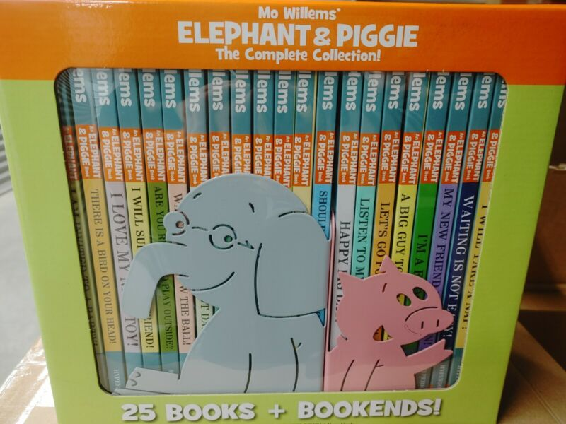 *NEW* Elephant & Piggie: The Complete Collection [2018/ Hardcover] with Bookends
