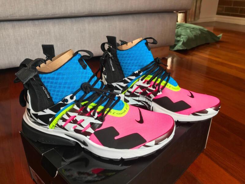 pick up 3e334 baeb1 Nike Presto X Acronym Mid racer blue Pink size 9 DS AH7832-001  Mens  Shoes  Gumtree Australia Monash Area - Glen Waverley  1201060441