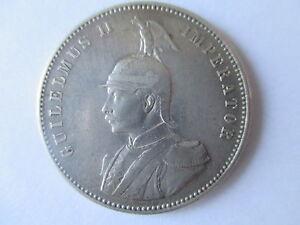 GERMAN EAST AFRICA  SILVER RUPEE 1905 J  VF