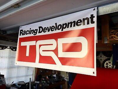 TRD Japan Toyota Racing Development Banner JDM SW20 AE86 AW11 JZA80 ZN6 TA22