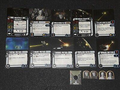 Star Trek Attack Wing (WizKids) Romulan Drone Ship Card Pack (used) Star Trek Romulan Ships