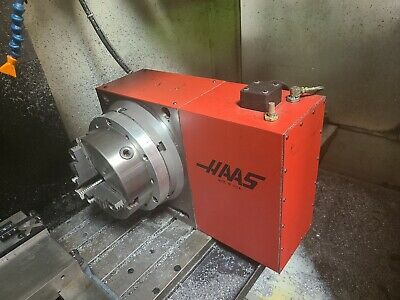 Used Haas Hrt 310 Brush 4th Axisrotary Table Indexer