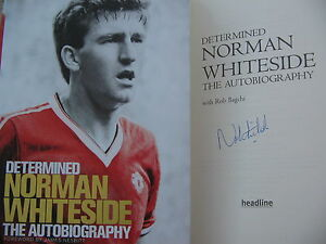 Norman-Whiteside-Manchester-United-signed-book-first-edition-Autobigraphy