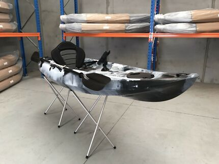 NEW 2017 2.95M CONGER KAYAK SINGLE SEATER CANOE FISHING CAMPING