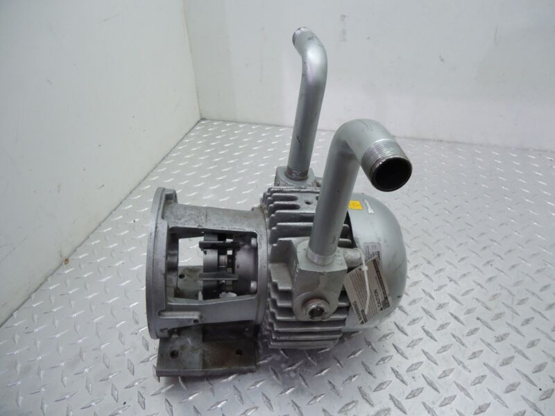 GAST VACUUM PUMP ROTARY VANE 1.5HP 3/4 IN 3/4 OUT 2567-V108