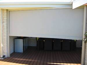 Bozzy outdoor shade blinds with electric motors Secret Harbour Rockingham Area Preview