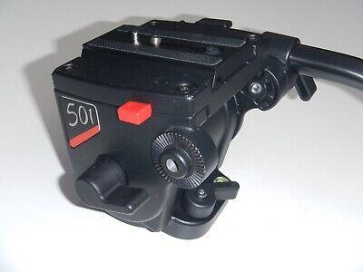Bogen Manfrotto Model #3433 501 Pro Video Fluid Head