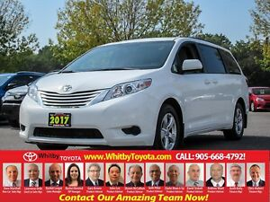 2017 Toyota Sienna LE 8 PASSENGER ADDED LEATHER
