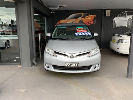 2012 Toyota Tarago GLI V6 Wagon Cabramatta Fairfield Area Preview