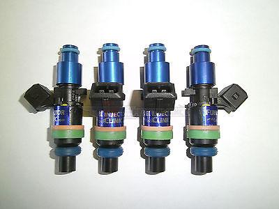 ASNU 1050cc Fuel Injectors Fit Denso Turbo 4G63T EVO VIII IX X FC3S 13B 20B 4AGE