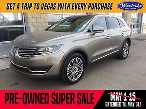 2016 Lincoln MKX Reserve PRE-OWNED SUPER SALE ON NOW!