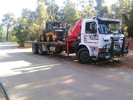 Hiab tilt tray service towing Perth Perth City Area Preview