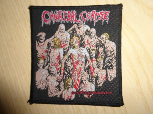 "PATCH CANNIBAL CORPSE ""THE BLEEDING"" VINTAGE 1994"