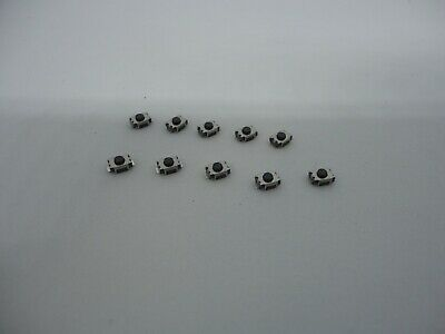 10x Pack Lot 3.7x2.8x1.5mm 2 Pin Push Tactile Momentary Micro Button Switch Smd