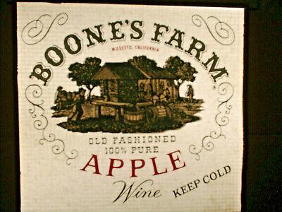 Vintage T-shirt Heat Transfers Lot Of 3 Boones Farm Apple Wine 1970s-80s