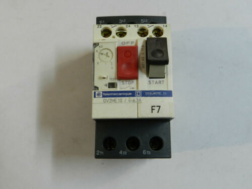 ^B Schneider Electric Telemecanique GV2ME05 Motor Disconnect GV2-Me05 .63-1a
