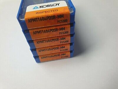 KORLOY APMT 1604 PDSR-MM PC5300 50PCS (10PCSx5)