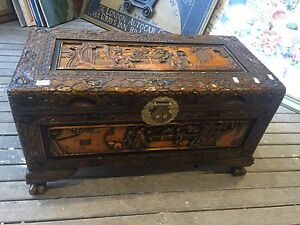Camphor wood Chest Tempe Marrickville Area Preview