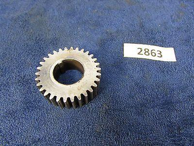 1905 Rivett 608 Lathe Feed Rod Gear 30 T 23 Dpi 2865