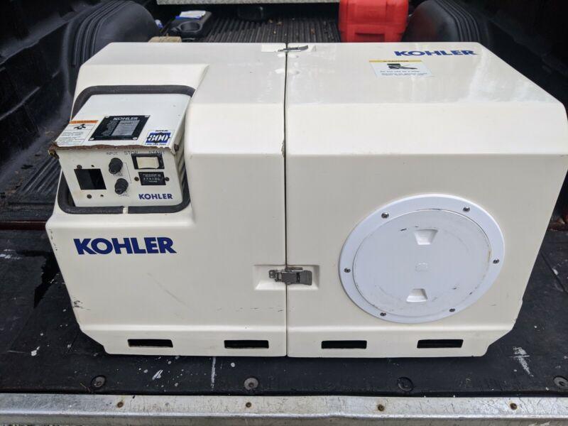 Kohler 6.5cz23 , 6.5 KW Marine Gas Generator 60 Hz