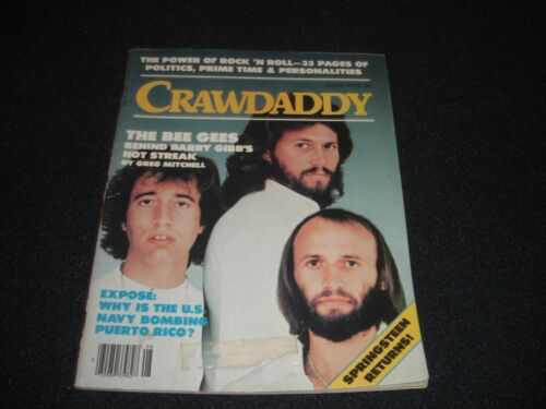 The Bee Gees Crawdaddy Magazine 1978