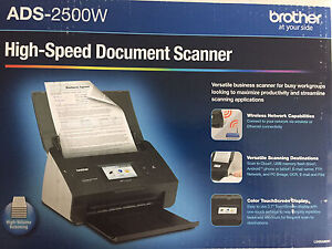 Brother Image Center ADS-2500w Scanner