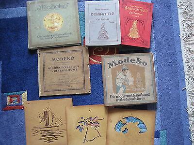 Konditorenbücher aus den 1920 Jahren