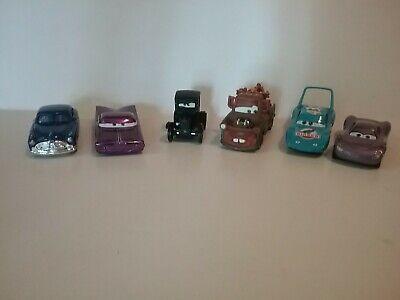 Disney Pixar CARS, Mater Ramone Dinoco Sally Lizzie Doc Hutson, LOT