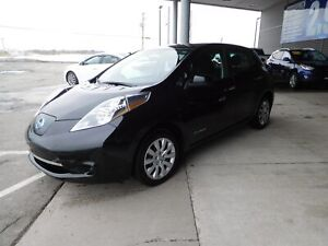 2016 Nissan Leaf S,A/C,CRUISE,BLUETOOTH,VOLANT CHAUFFANT,CAMERA