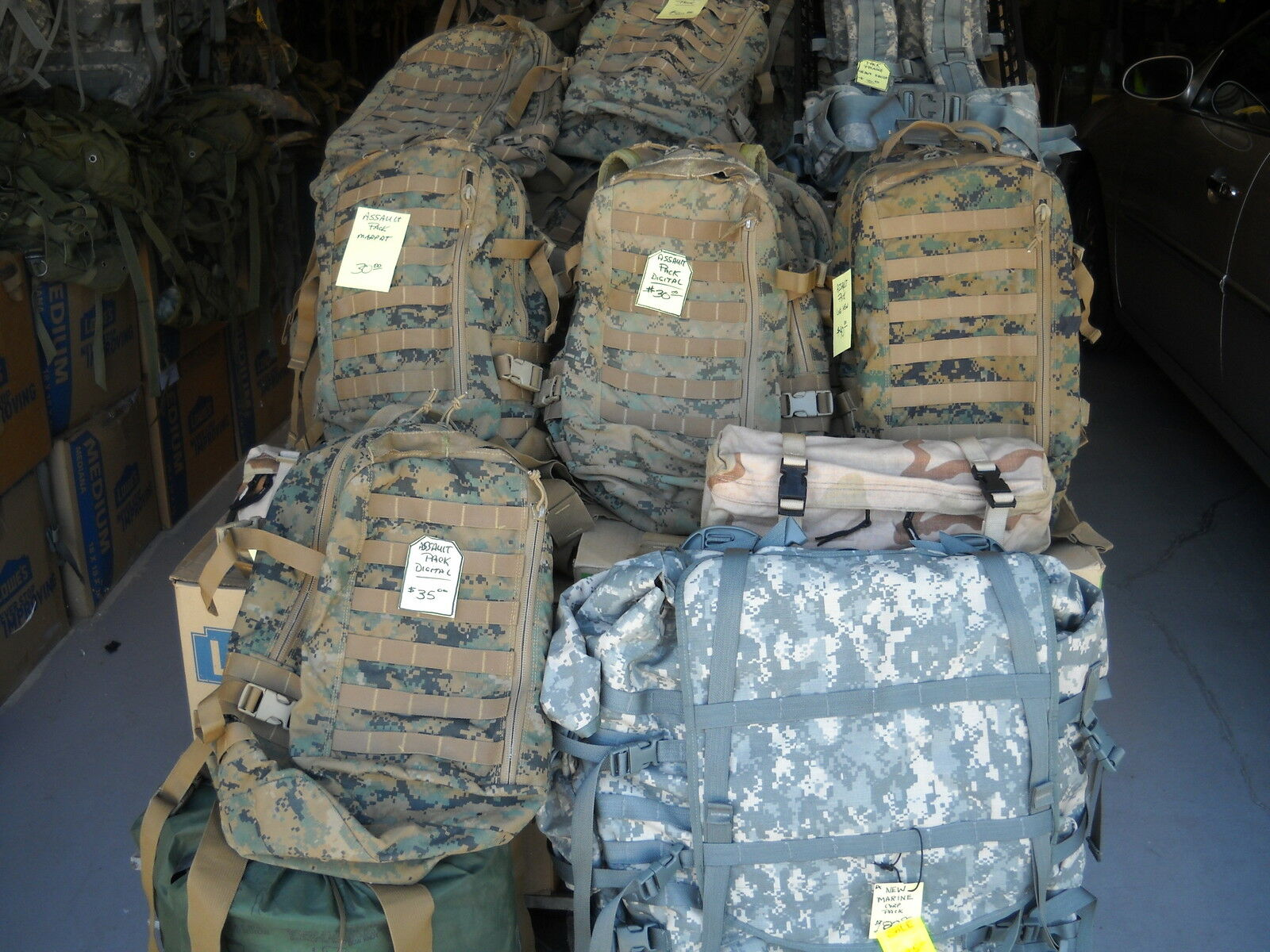 US GEAR UP BACKPACKS AND MORE