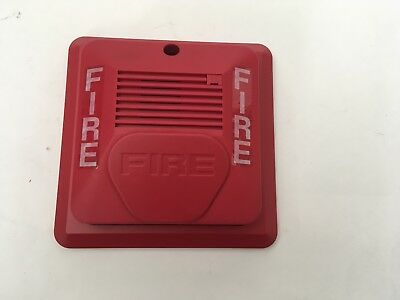 Nib New Potter Amseco H24w Fire Alarm Remote Horn Red