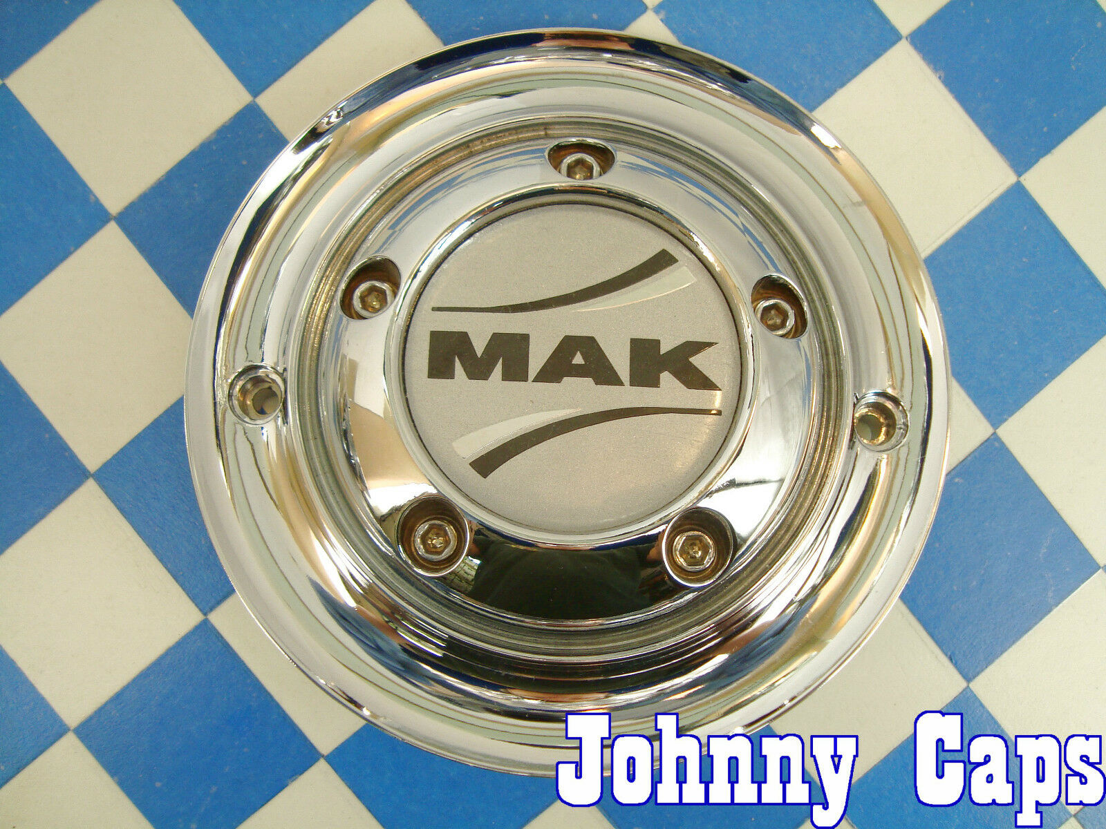 Mak Wheels Chrome Custom Wheel Center Caps Mak Center Cap 1