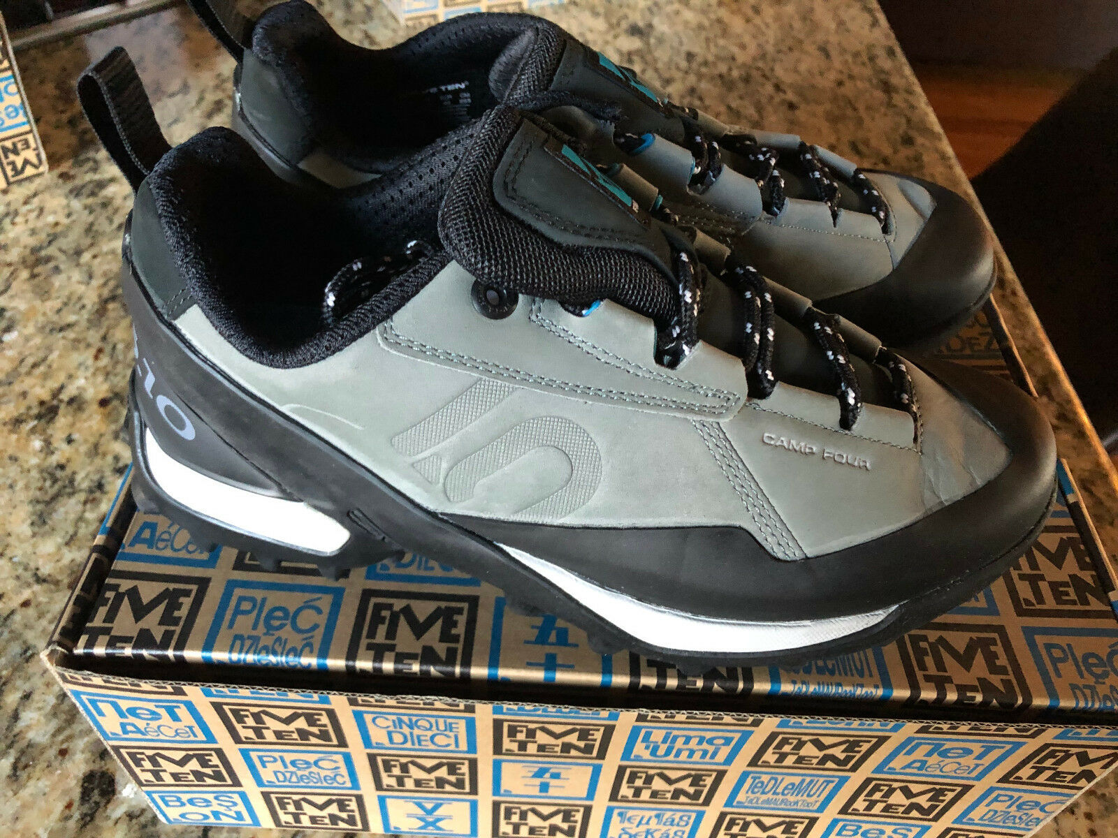 New Five Ten Men/'s 5177 Aescent Dark Grey//citron Size 8.5