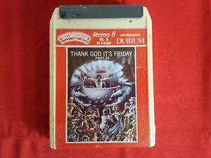 Cassetta-Stereo-8-Sigillata-THANK-GOD-IT-039-S-FRIDAY-Part-II-Artisti-vari-8-Track