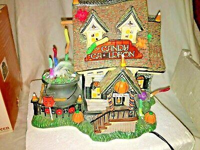 Dept 56 THE CANDY CAULDRON Snow Village Series Halloween #56-54609 RETIRED