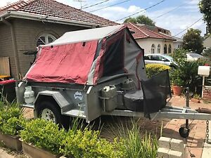 Jumbuck camper trailer New Canvasses and Matress Maroubra Eastern Suburbs Preview