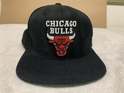 VINTAGE MITCHELL & NESS CHICAGO BULLS HARDWOOD CLASSICS SNAPBACK CAP NBA