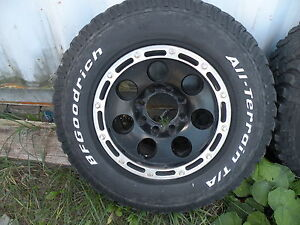 Truck 8 Bolt Rims and Tires Peterborough Peterborough Area image 3