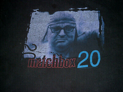 Vintage 90's 1997 Matchbox 20 T shirt Yourself or Someone Like You Sz L GIANT